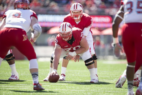 Wisconsin Badgers XXXX during an NCAA college football game against the Miami (Ohio) Red Hawks Saturday, September 12, 2015. (Photo by David Stluka)
